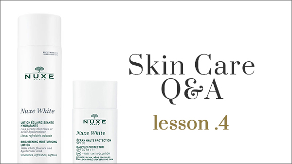 Skincare Q&A -Cleansing-