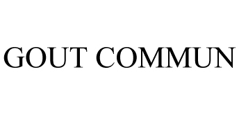 GOUT COMMUN