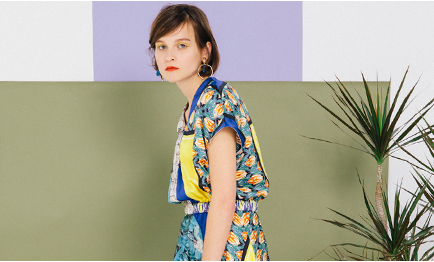 Cheerful print wear