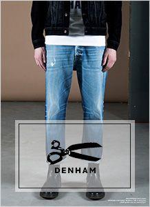 Brand Close up DENHEM